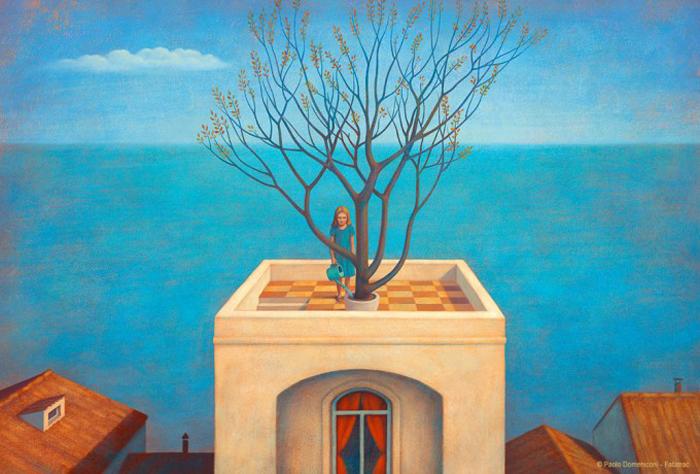 Весна настает. Автор: Paolo Domeniconi.