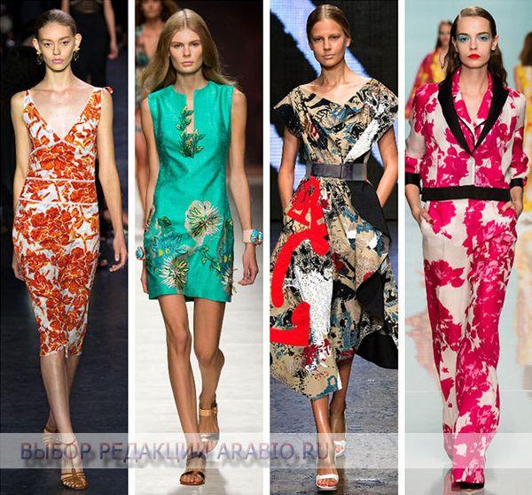 Для японского стиля одежды характерны цветочные мотивы