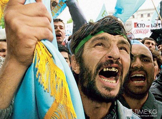 Крымские татары «подкараулил…