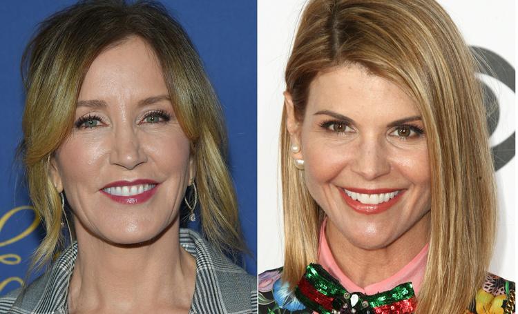 Актрис Фелисити Хаффман и Лори Лафлин обвинили в даче взяток за поступление дочерей в колледжи