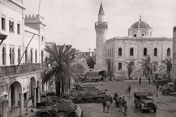 В полушаге от Ливийской ССР