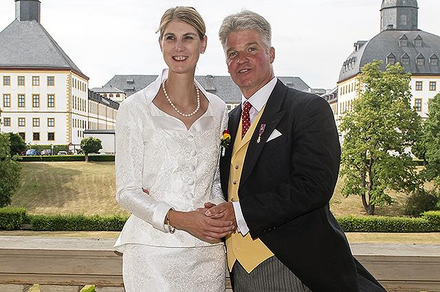 Немецкая принцесса впервые в…