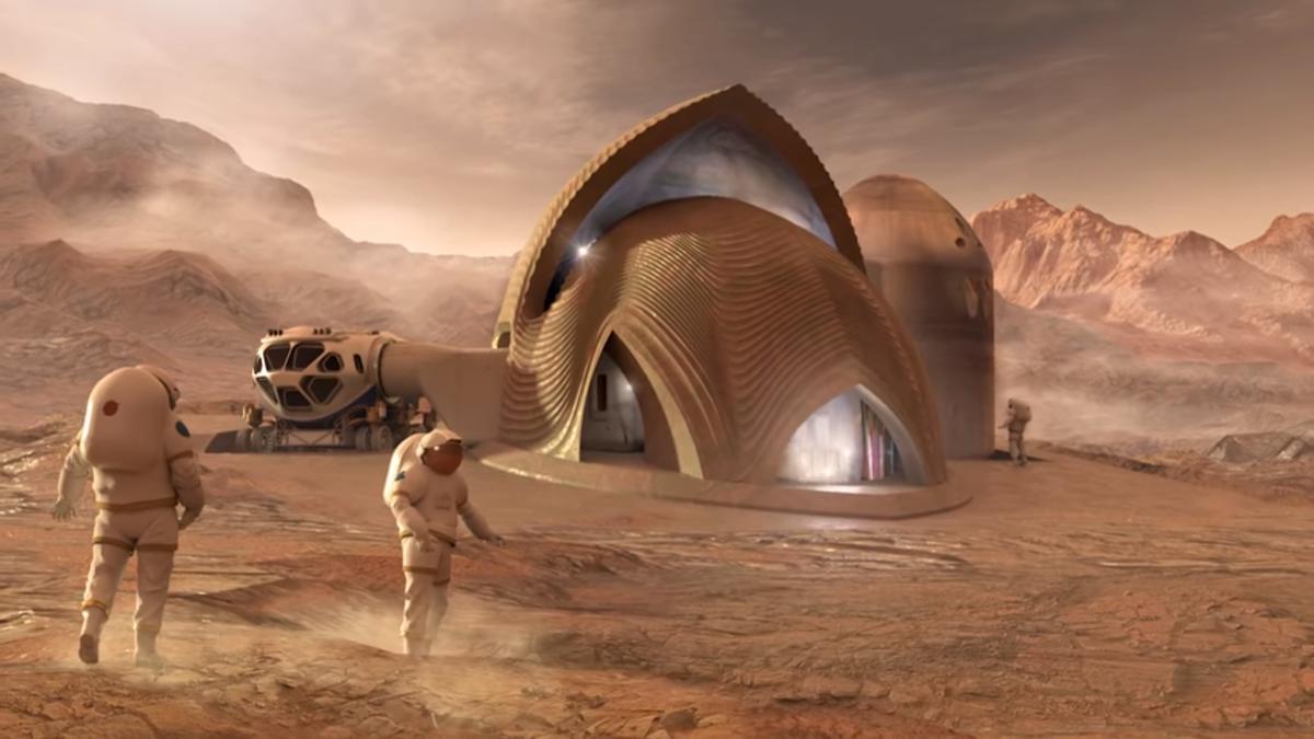 Какую дозу радиации получат будущие колонисты Марса