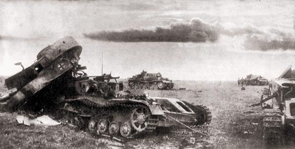 Бой на рассвете или Один против танковой колонны