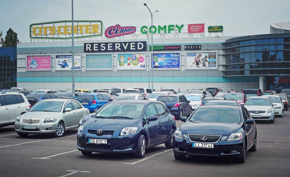Евроинтеграция: почему украинцы ездят на авто с иностранными номерами?