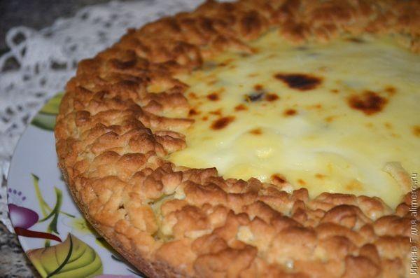 пирог с творогом рецепт