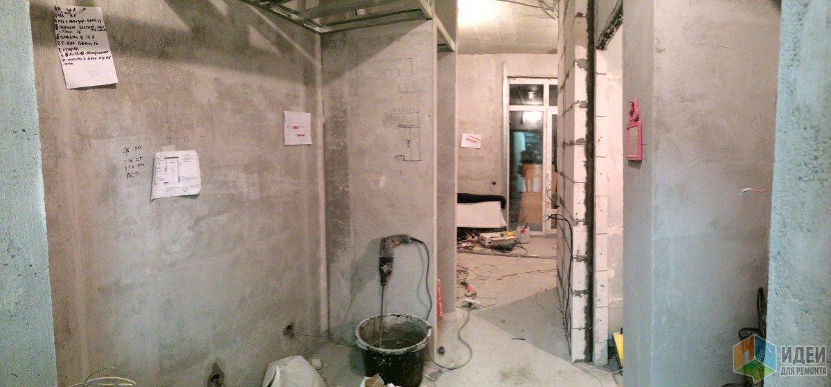Квартира-студия перепланировка, ремонт в квартире фото