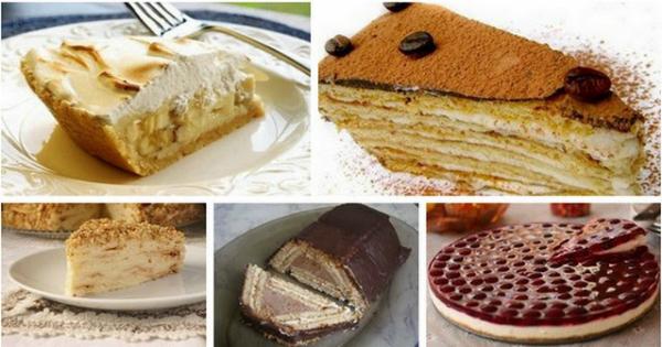 Торты из печенья — 5 лучших рецептов