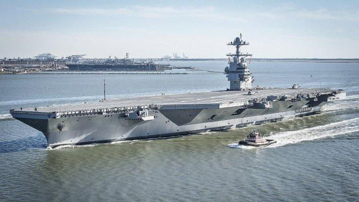 Авианосная ударная группировка ВМС США вернулась в Средиземное море