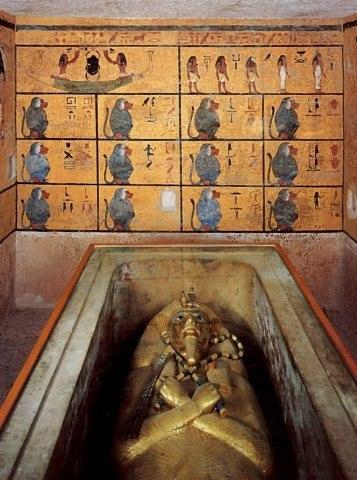 Загробные вести:Проклятие Тутанхамуна и его месть...!