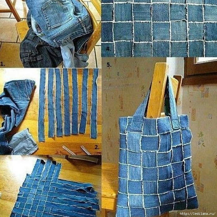 Что можно сделать своими руками из старых сумок