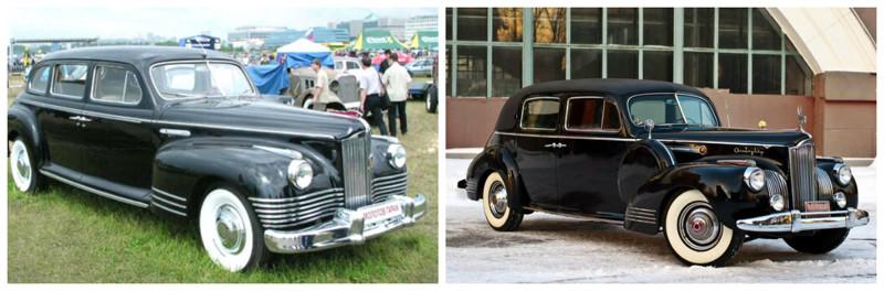 ЗИС-110(1945-1958)-Packard 180(1940-1942) автомобили, история, ссср, факты