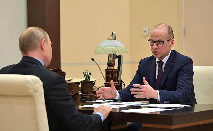 Москва, Кремль: встречи, поручения, совещания.