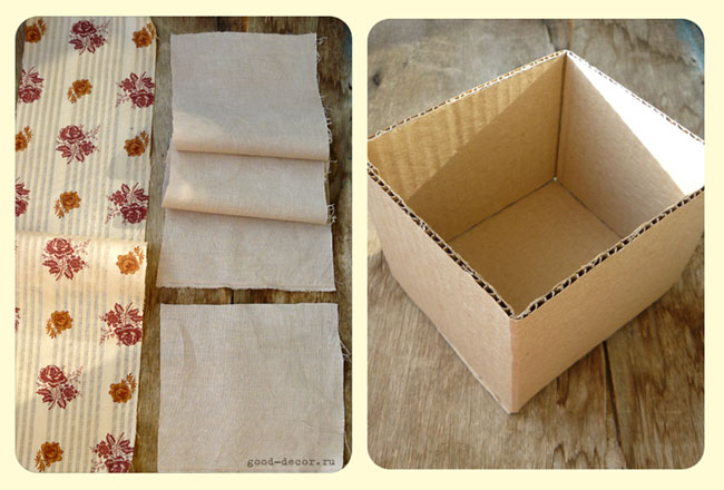 Ткань для обтягивания коробки