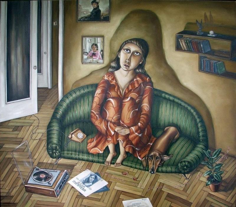 AngelaJerich21 Путешествие в СССР: картины художницы Анжелы Джерих