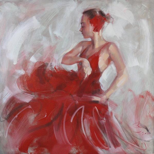 Фламенко. (599x600,  123Kb)