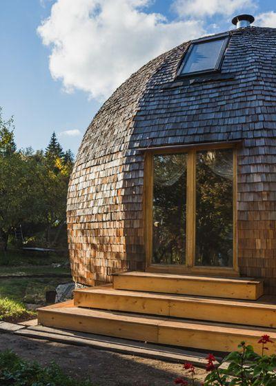 Жить в коконе: 10 проектов круглых домов из разных стран