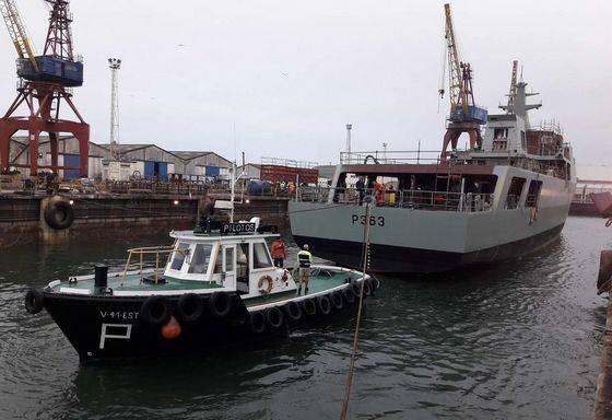В Португалии спущен на воду четвертый патрульный корабль