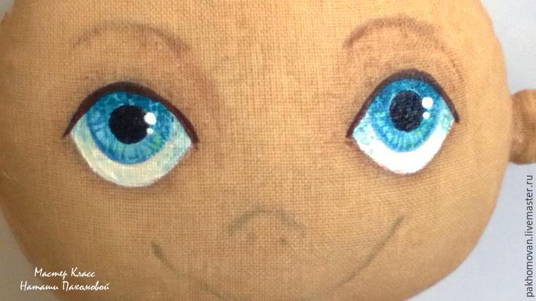 Как рисовать куклам глаза мастер класс 183
