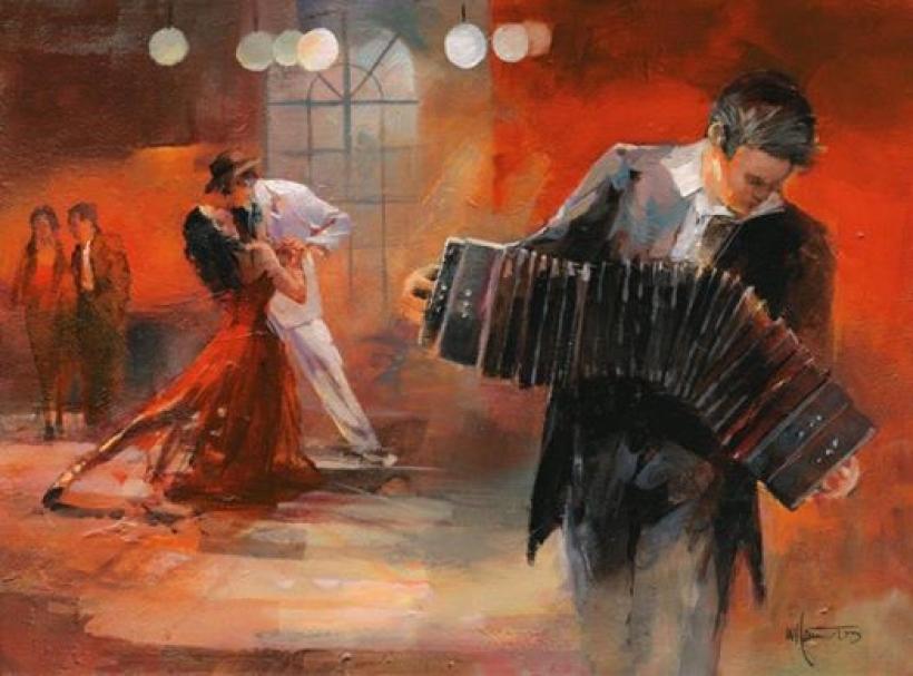 Только он, она и танго...