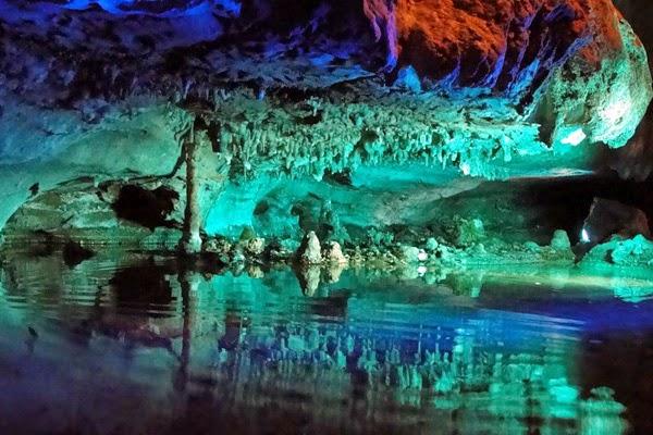 Пещерный водопад Руби или история о том как вода камень точит
