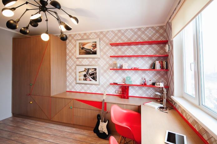 дизайн комнаты для юноши
