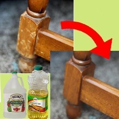 Как обновить старую мебель.