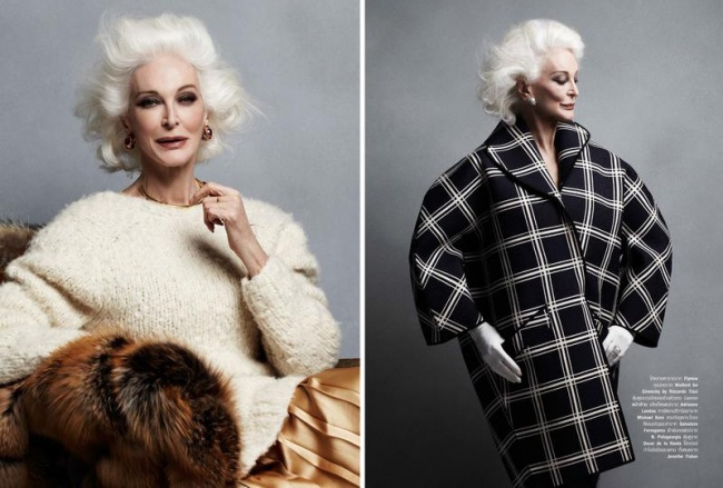 Хорошо бы каждой женщине выглядеть в 84 так же, как она!