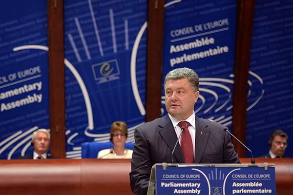 Президент Украины Петр Порошенко. Фото: AFP/PATRICK HERTZOG