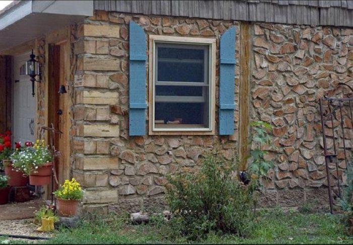 Дом из дров своими руками фото