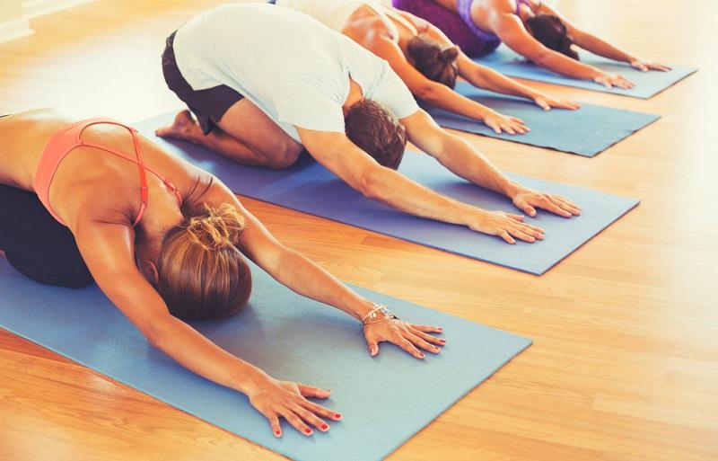 стретчинг упражнения