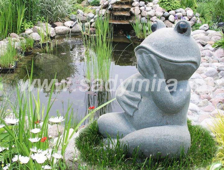Фигуры для сада из бетона своими руками 16