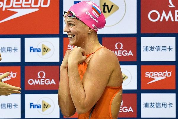 Российские пловцы завоевали очередное «золото» на этапе Кубка мира