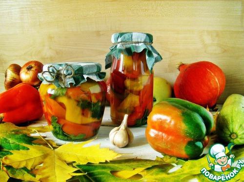 Перец в медовом соусе - очень вкусный, кисло-сладкий, со вкусом и ароматом меда