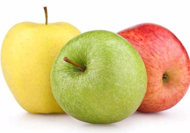 Какого цвета полезные яблоки