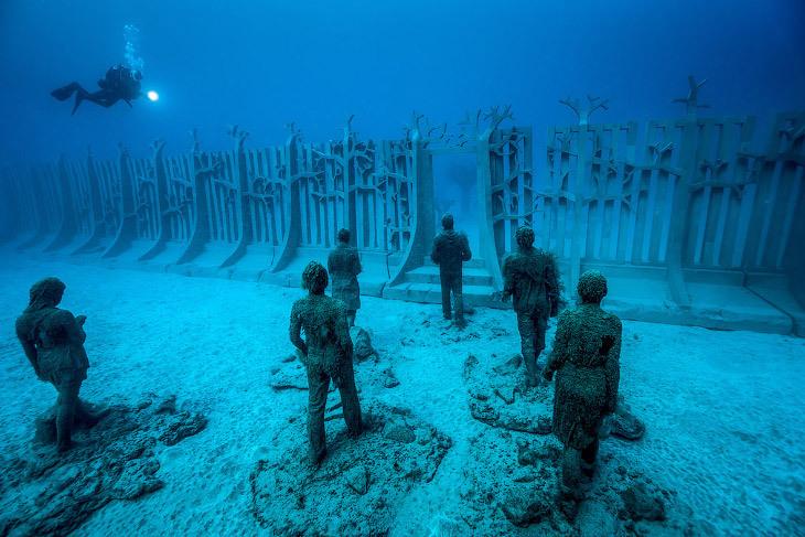 Atlantico: первый подводный музей в Европе