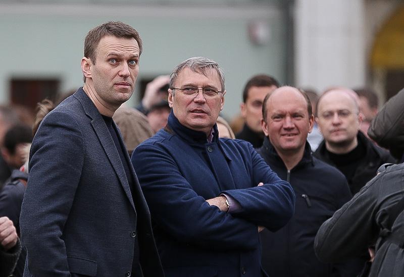 Касьянов и Навальный создали альянс для участия в выборах в Госдуму в 2016 г