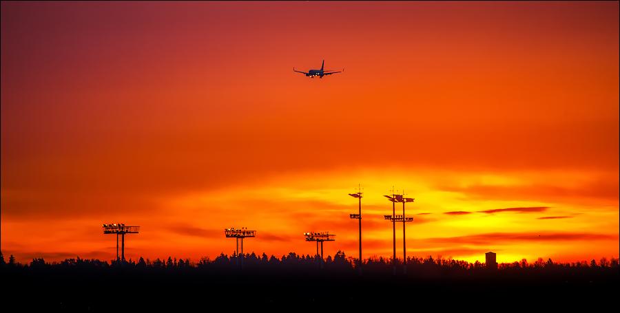 Горящие самолеты