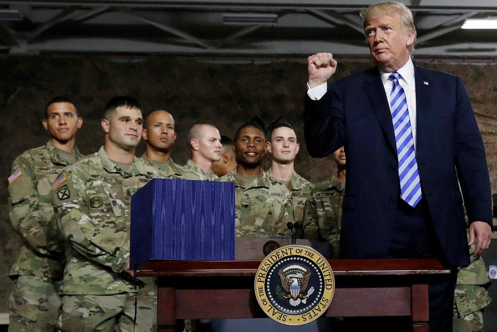 Трамп подписал оборонный бюджет на 2019 год