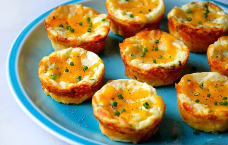 Картофельные маффины рецепт с фото
