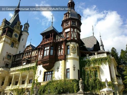 Замок Пелеш - самый красивый замок в Румынии