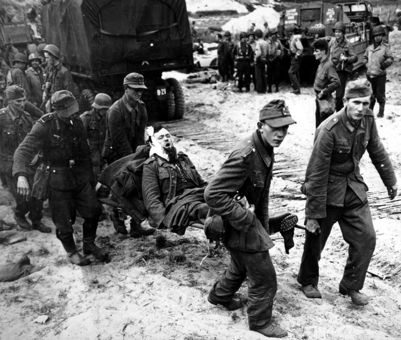 """""""Героическая высадка"""" союзников в Нормандии"""