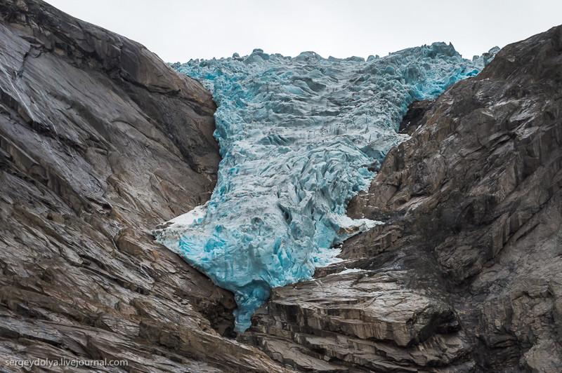 А так сейчас: европа, ледник, тает