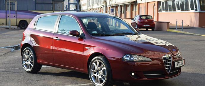 Alfa Romeo 147: мы ведь любим итальянские вещи, почему бы не примерить их автомобиль?