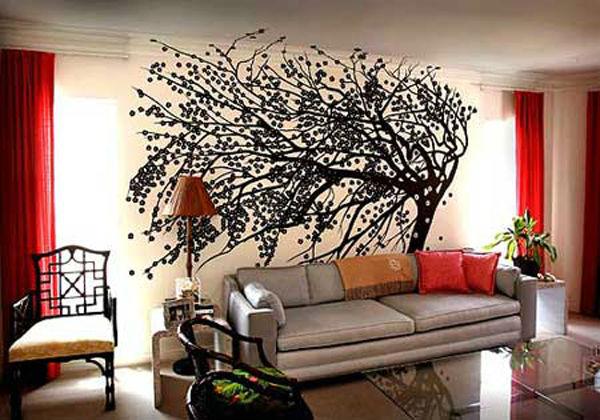 Декорация стен своими руками фото 28