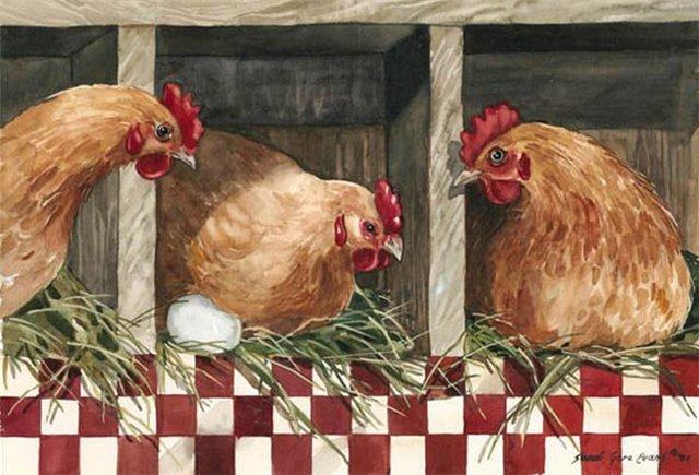 Уют и очарование в живописи Sandi Gore Evans
