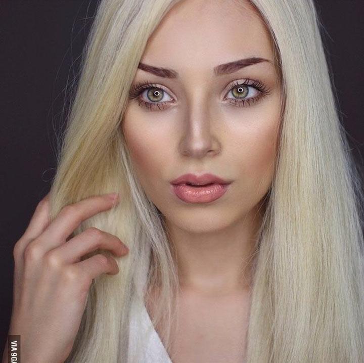 Сила макияжа: как может отличаться образ одной и той же девушки
