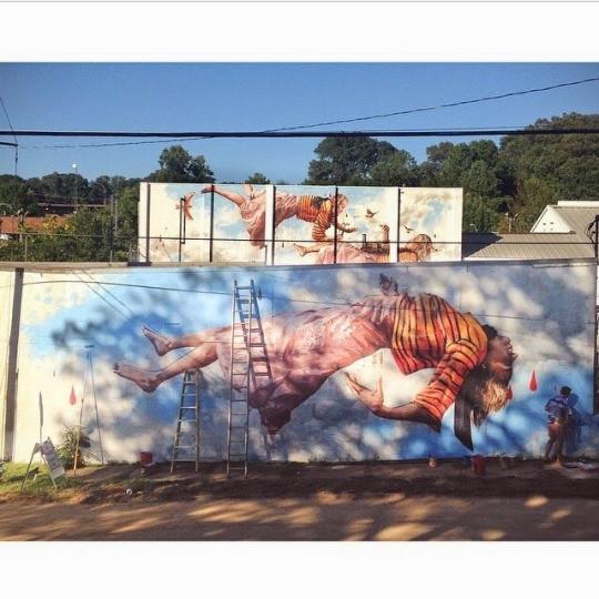 8. Атланта, Джорджия, США граффити, стрит-арт, художники