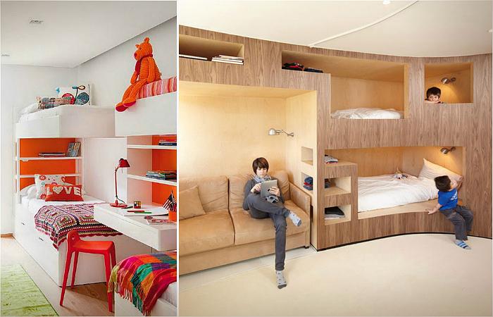 УЮТ В ДОМЕ. Кровати и спальни для больших семей и крохотных пространств