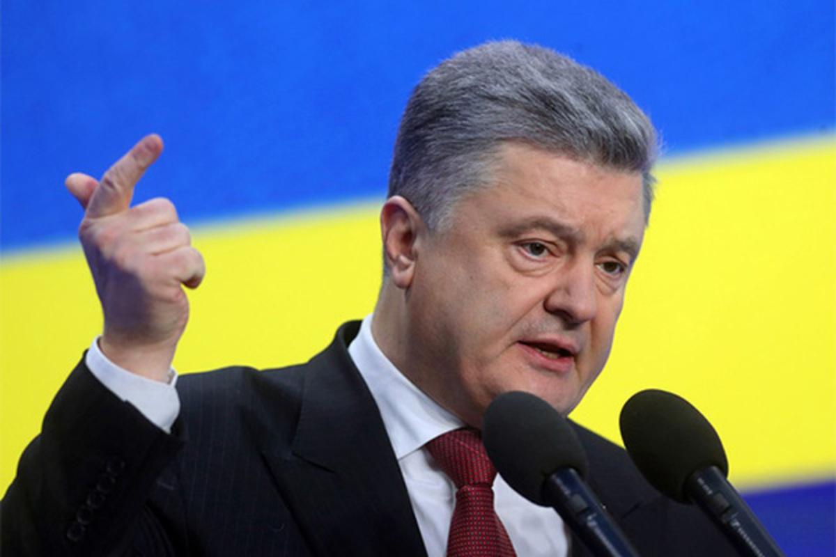 Порошенко анонсировал скорое изменение статуса Крыма